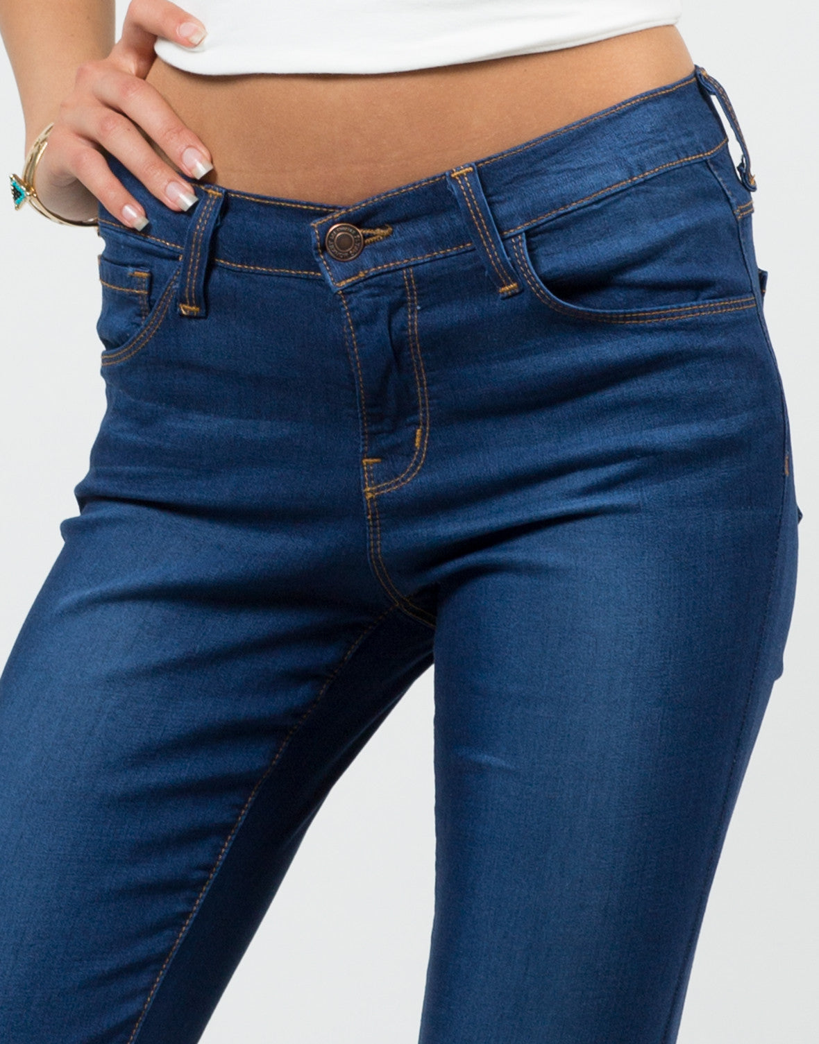 Detail of Classic Skinny Jeans