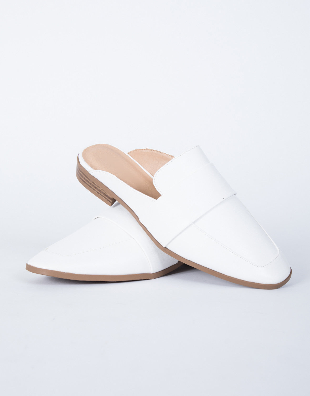 Clean Slate Loafers - White Leather