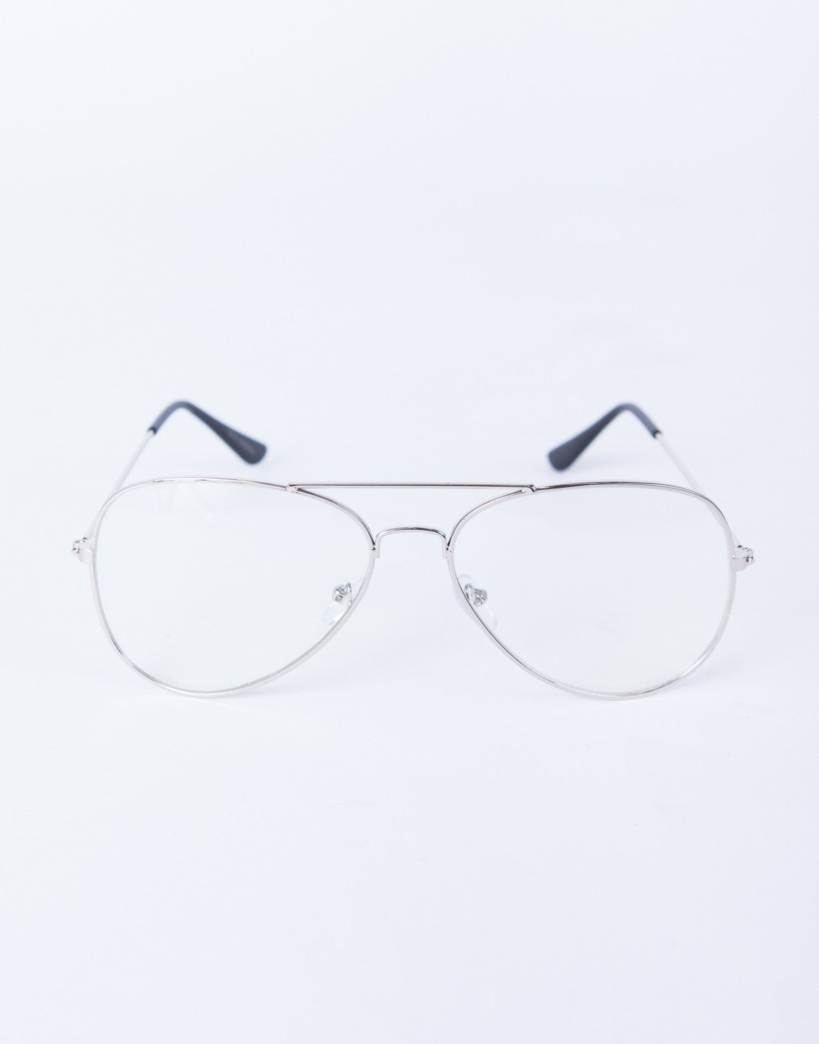Clear Aviator Glasses