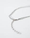 Clear Crystal Layer Necklace