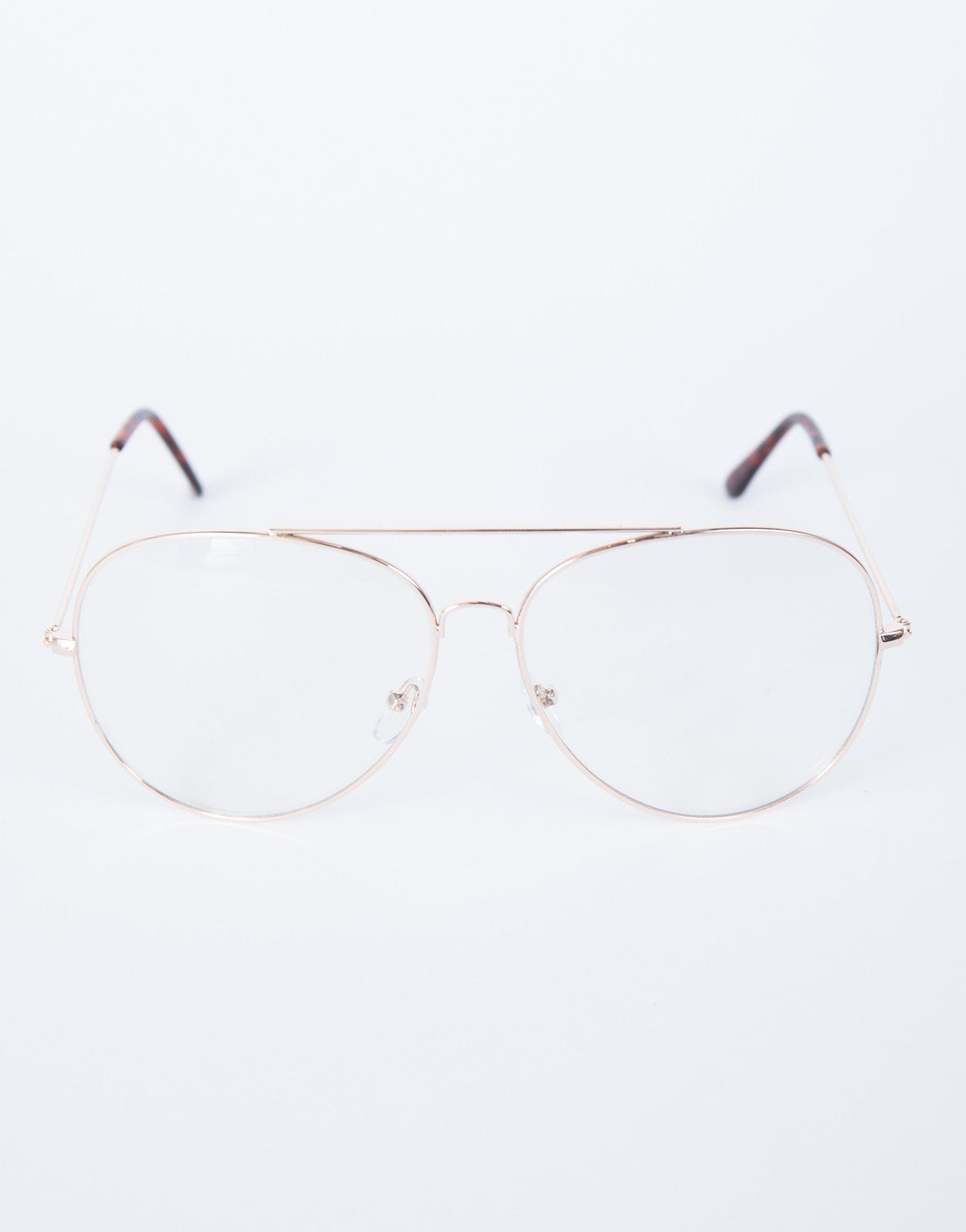 b653571942 Clearly Retro Aviators - Oversized Clear Glasses - Oversized Hippie ...