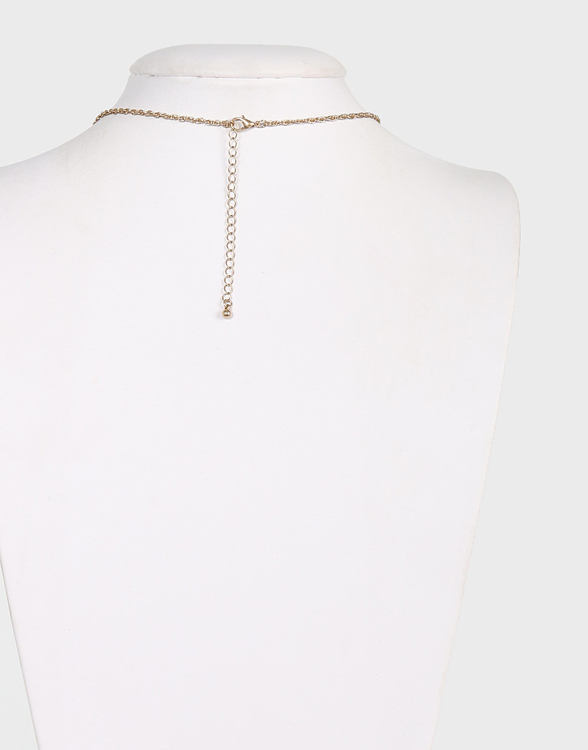 Clearly Triangle Pendant Necklace