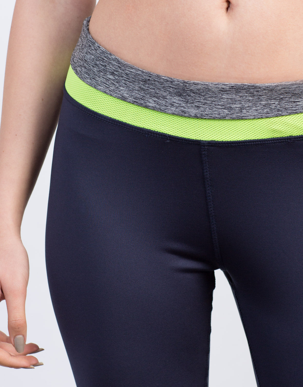 Detail of Color Block Leggings
