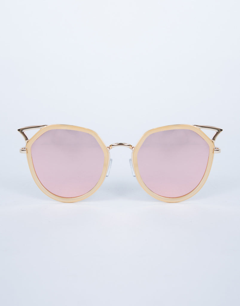 Colored Cat Eye Sunnies
