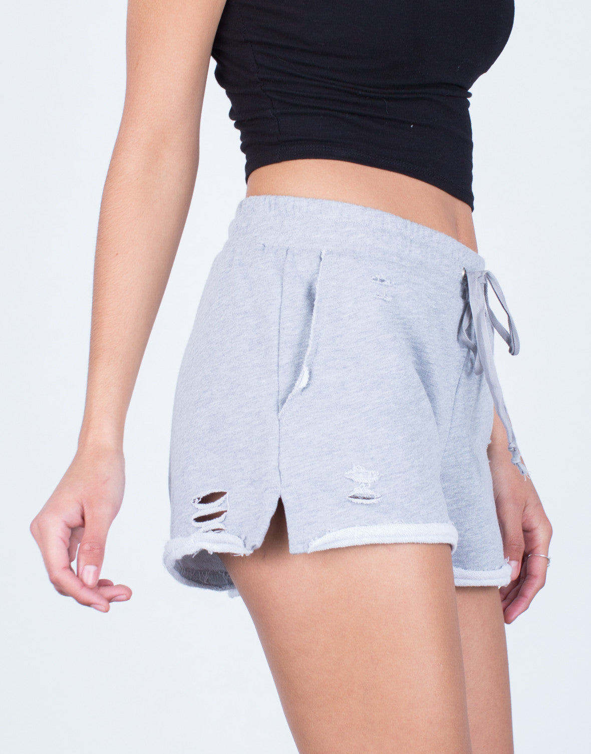 Comfy Destroyed Shorts