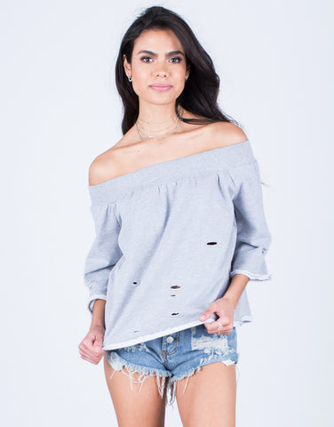Comfy Off-the-Shoulder Top