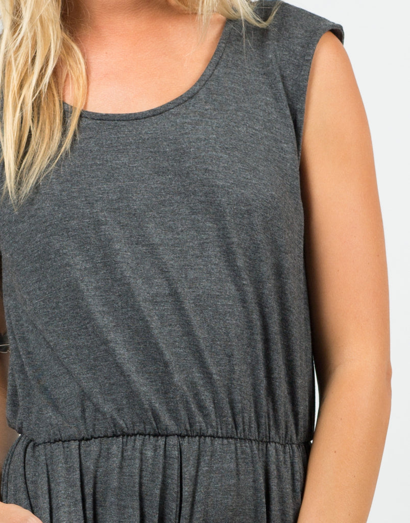 Detail of Comfy Jersey Romper