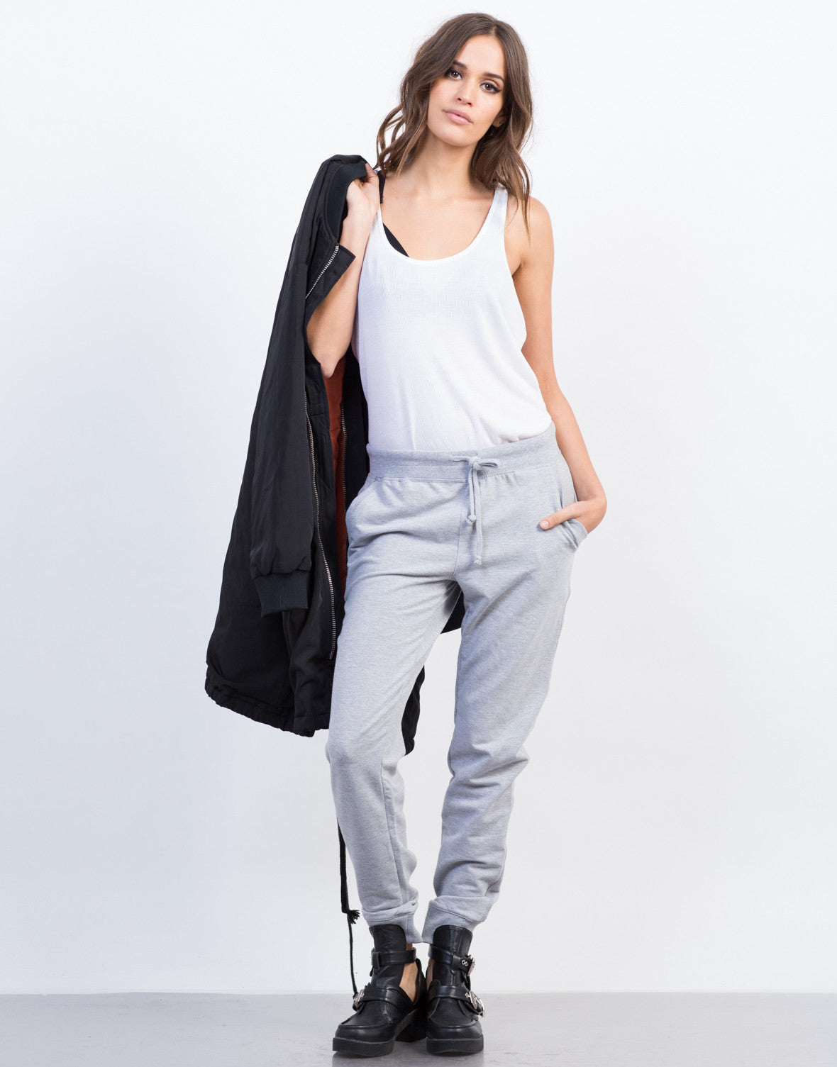 Front View of Comfy Joggers