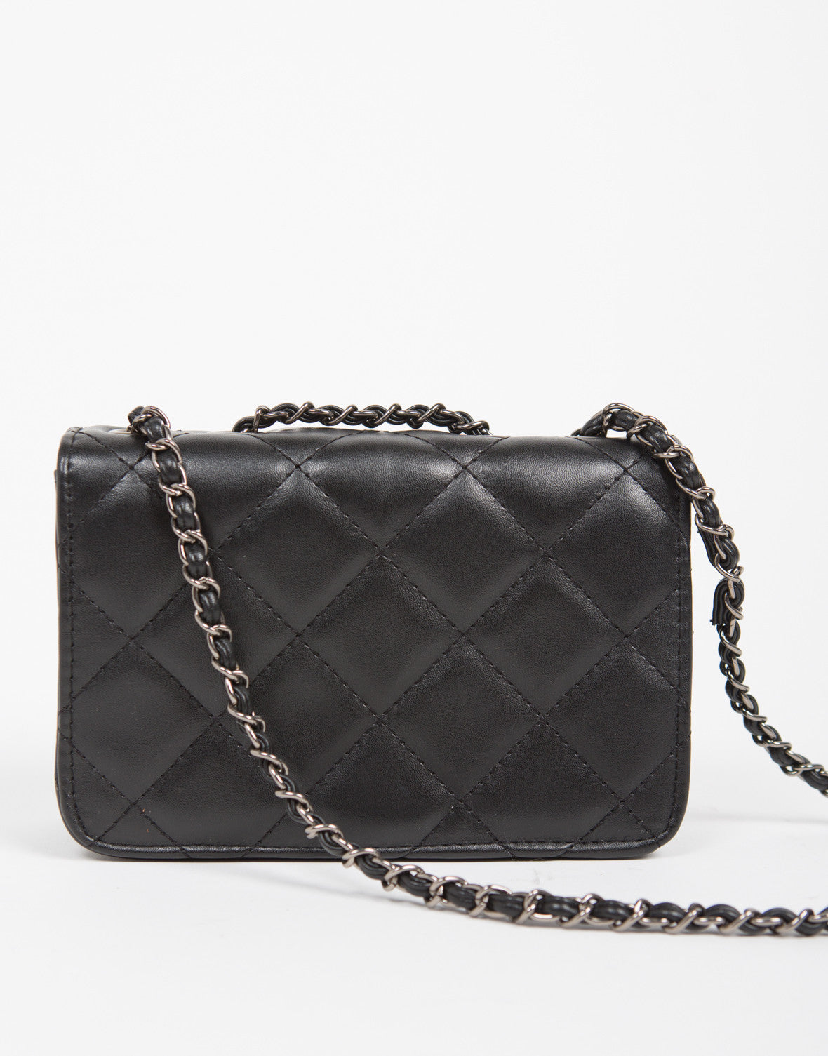 Compact Quilted Purse