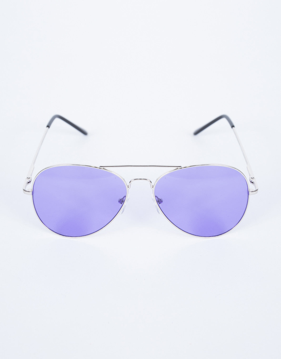 Purple Cooled Down Aviators - Top View