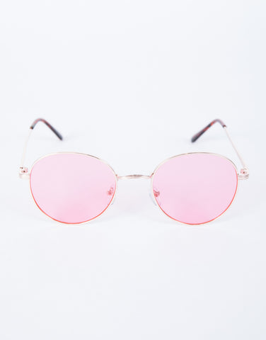 Pink Cotton Candy Sunnies - Top View