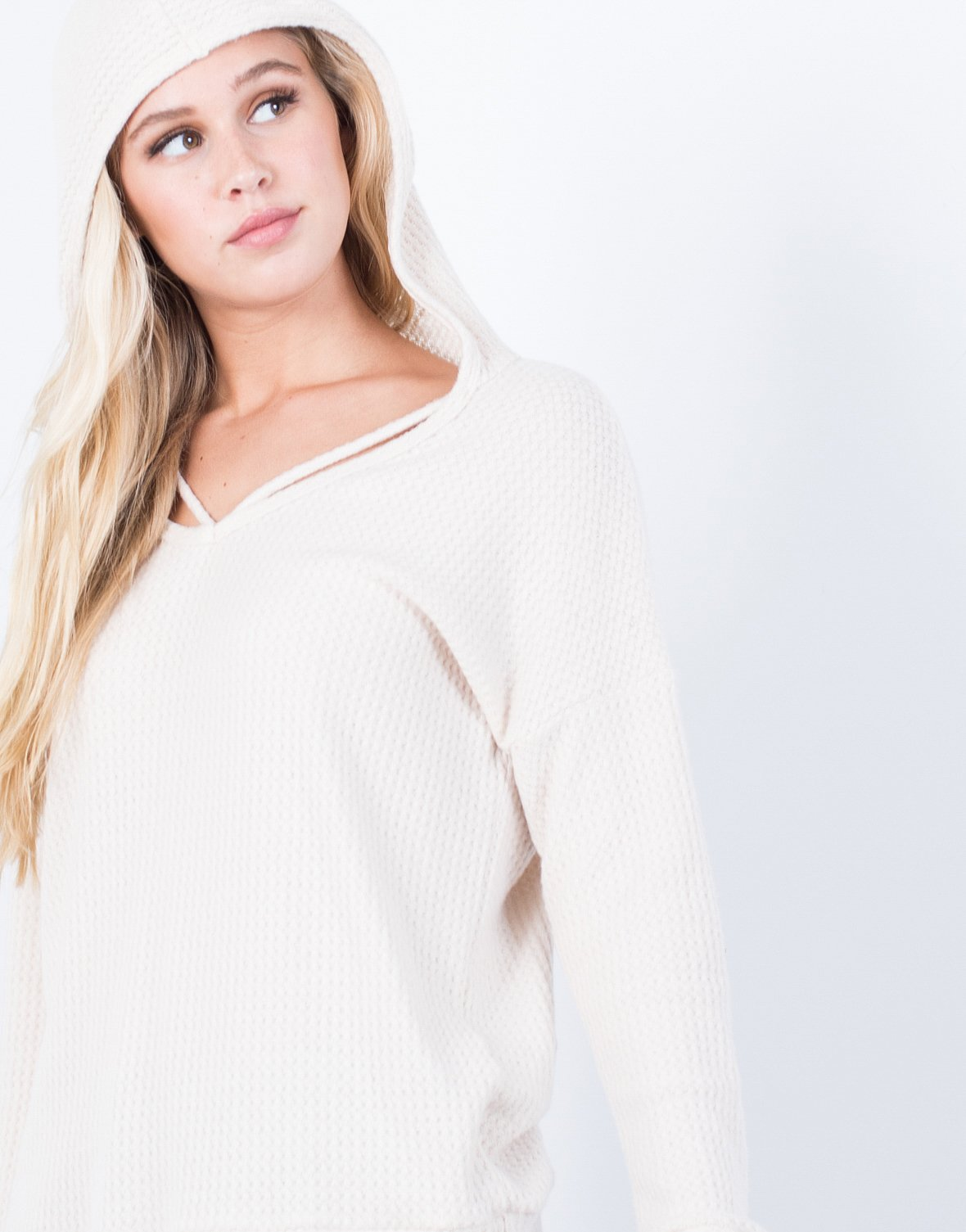 Cozy Hooded L/S Top