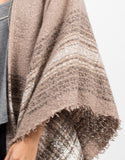 Detail of Cozy Oversized Poncho