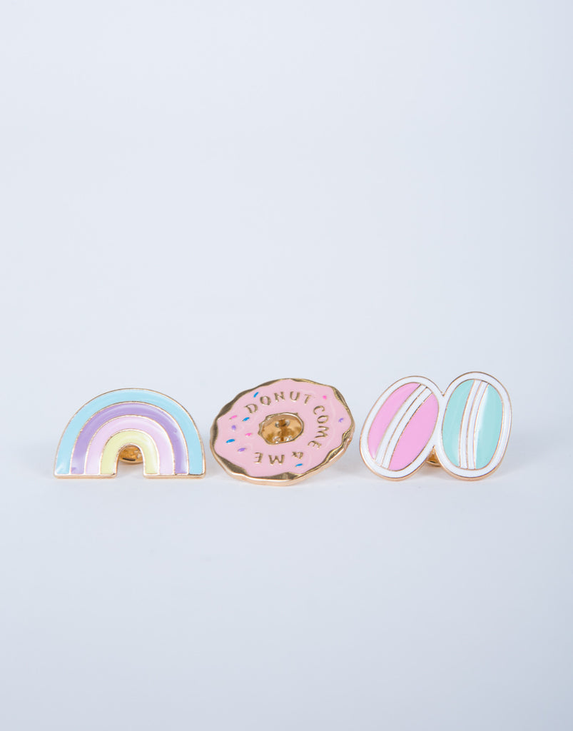 Crazy for Donuts Pin Set
