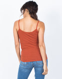 Criss Cross Knit Tank - 2020AVE