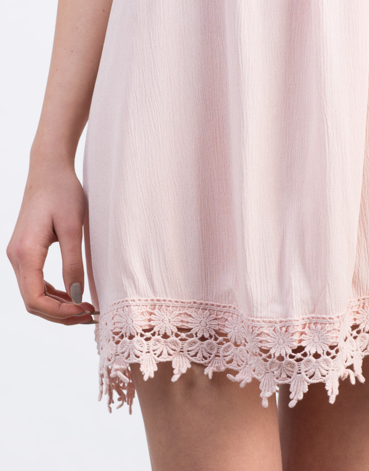 Detail of Crochet Tunic Dress