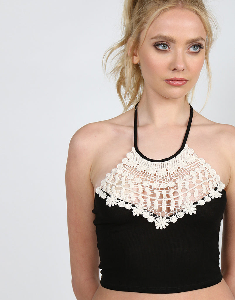 Crochet Halter Top - 2020AVE