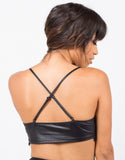Back View of Crochet Trim Bralette