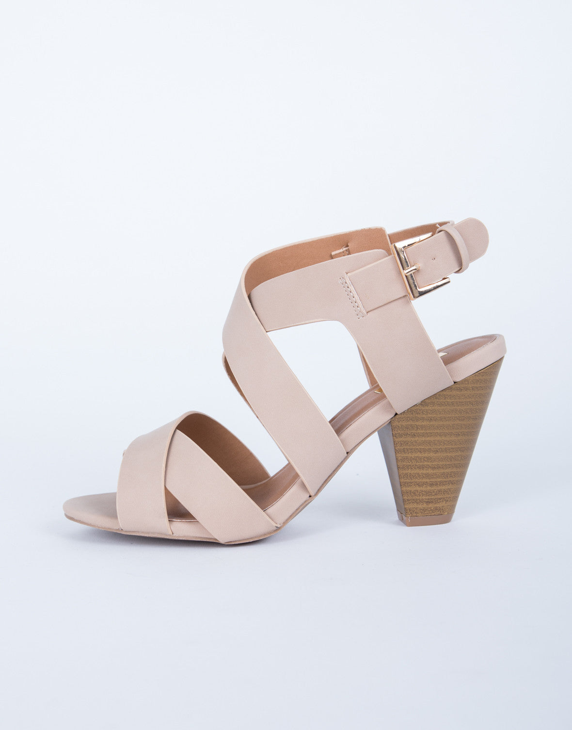 Cross Banded Sandals