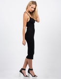 Cross Open Back Midi Dress - 2020AVE