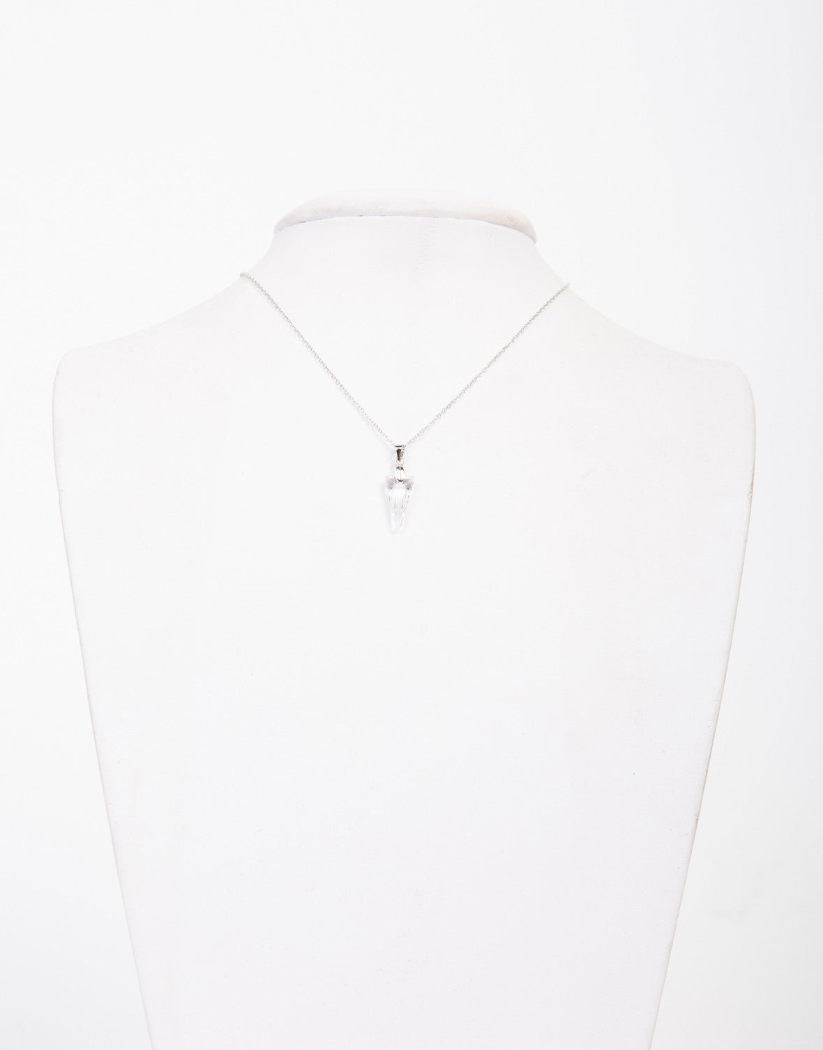 Crystal Clear Pendant Necklace