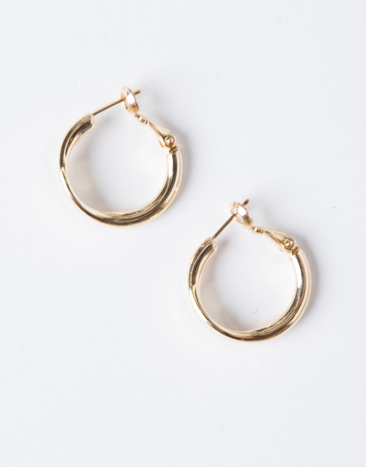 Curved Edge Mini Hoops - 2020AVE