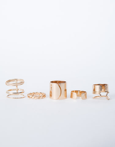 Cut Out Ring Set