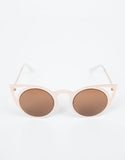 Top View of Cut Out Cat Eye Sunnies