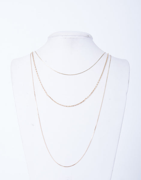 Dainty Dazzled Layered Necklace by 2020 Ave