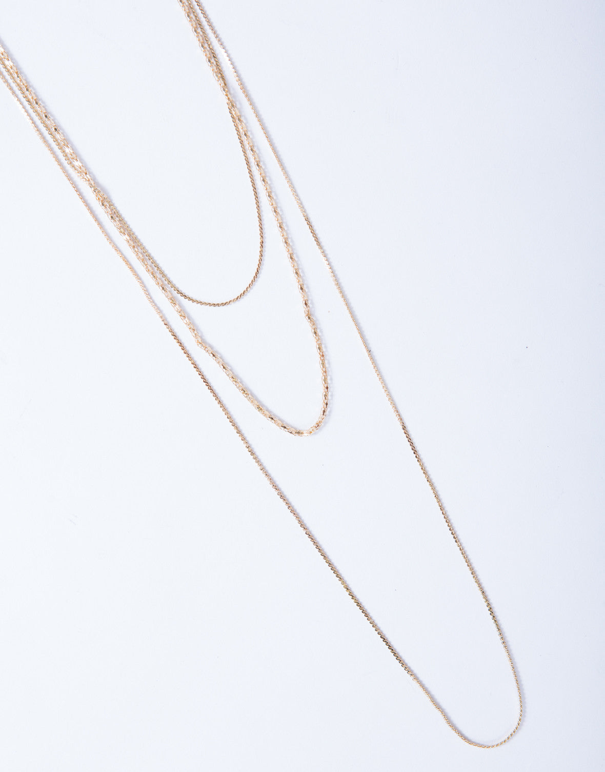Dainty Dazzled Layered Necklace - 2020AVE