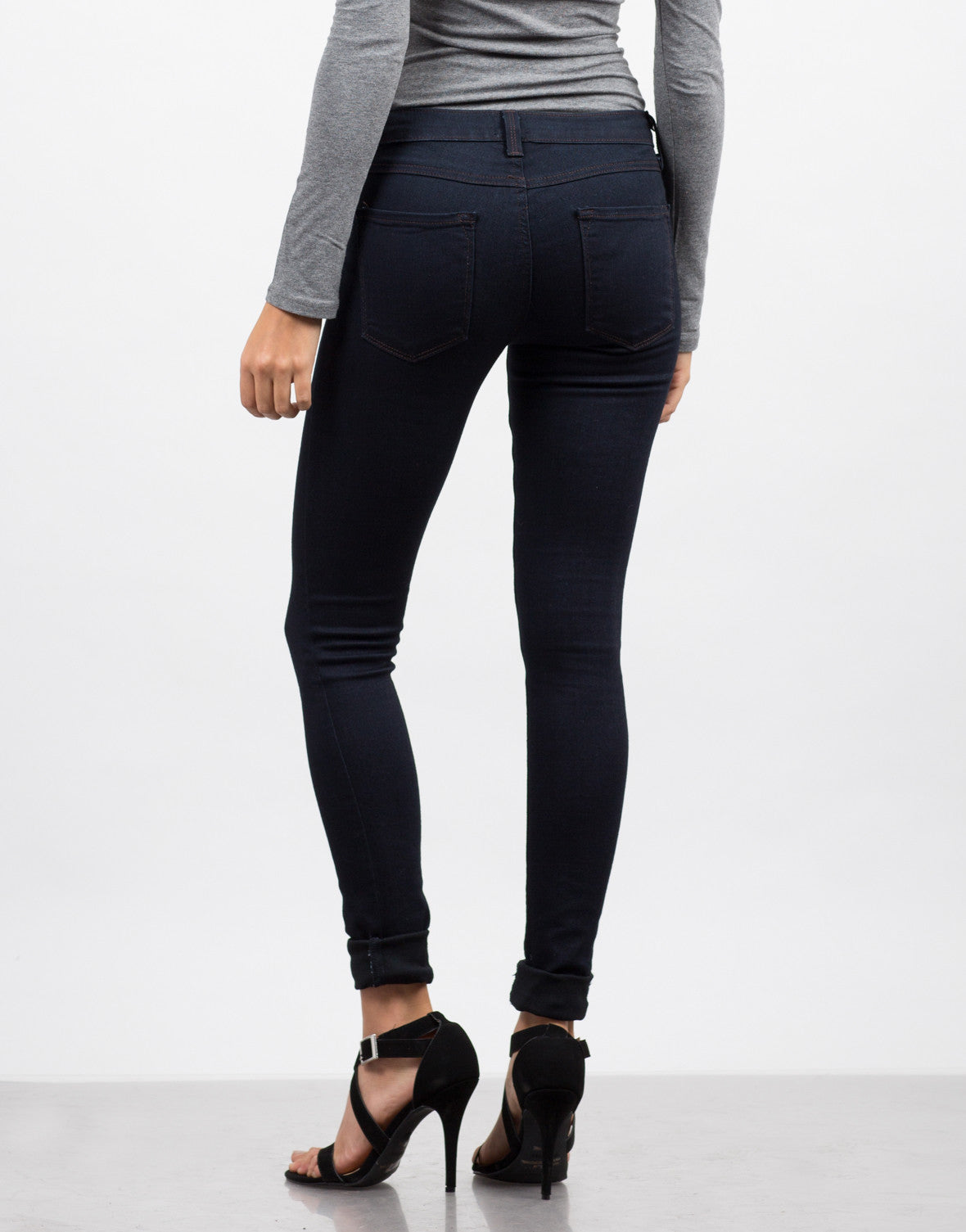 Dark Denim Jeggings - 2020AVE