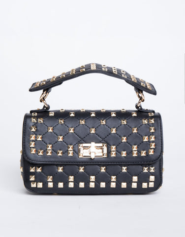 Decked Out Studded Bag - 2020AVE