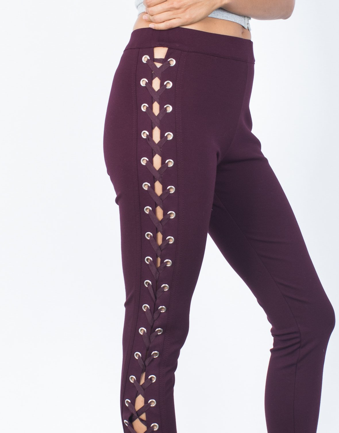 Demi Lace-Up Leggings - 2020AVE