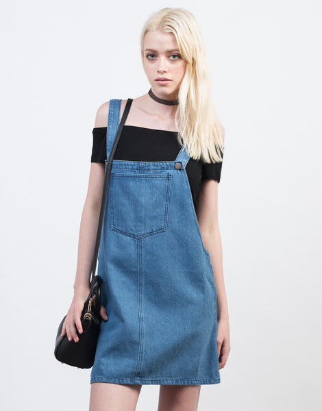 denim overall dress white denim dress blue denim dress