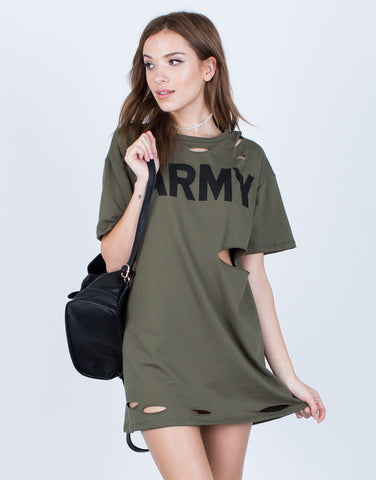 Destroyed Army Tunic - 2020AVE