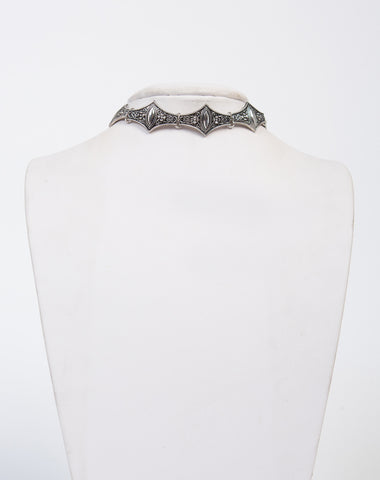 Detailed Metal Boho Choker