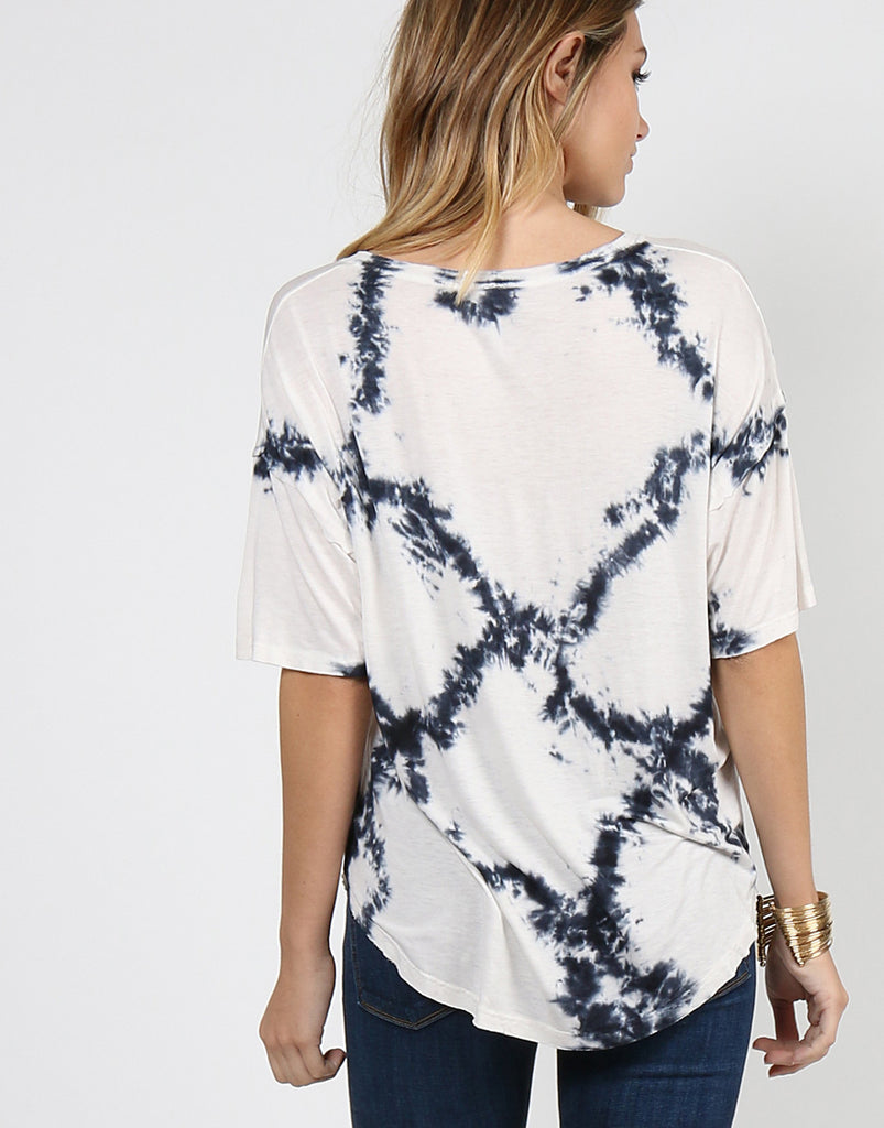 Diamond Tie Dye Tee - Medium - 2020AVE