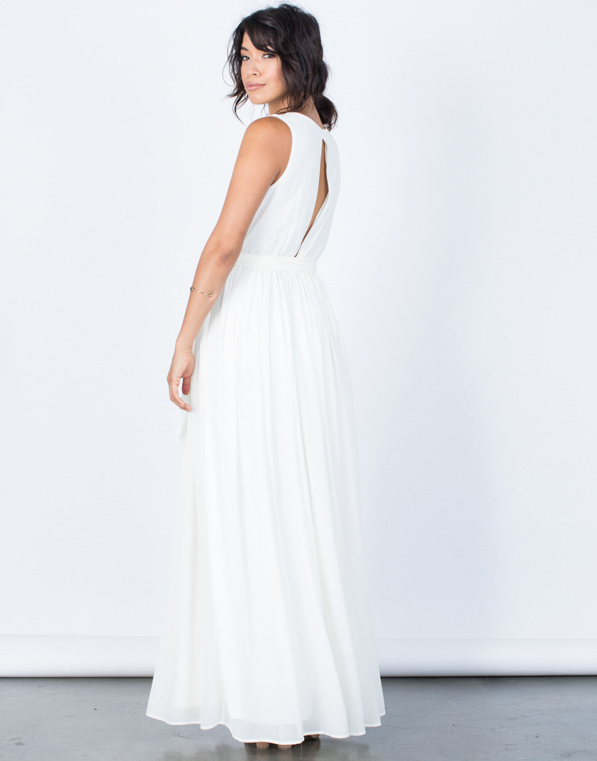 Back View of Diana Maxi Dress