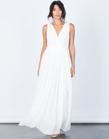 Front View of Diana Maxi Dress