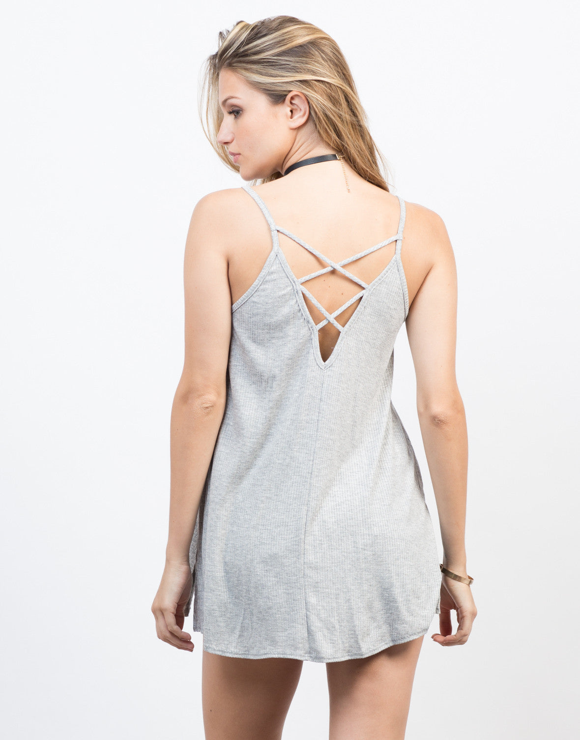 Back View of Do the Criss Cross Cami