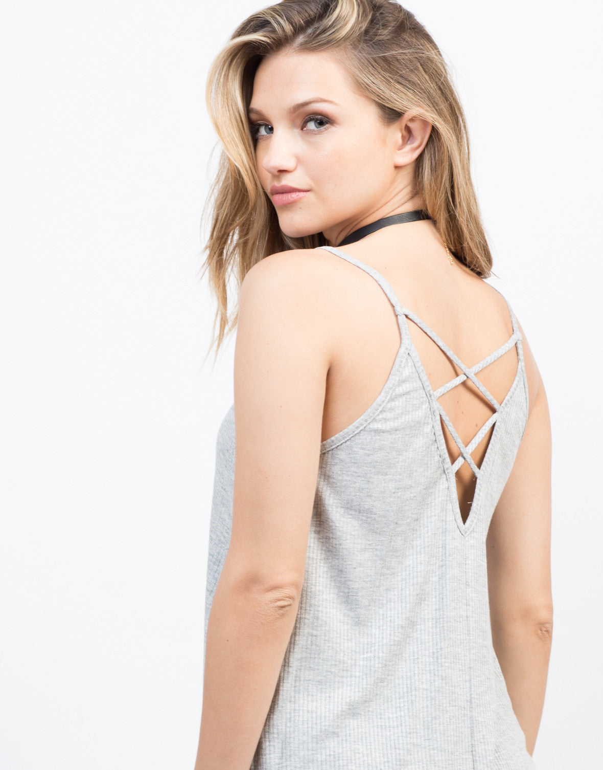Detail of Do the Criss Cross Cami