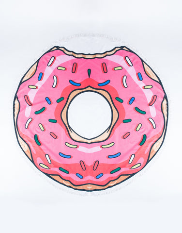 Donut Beach Towel