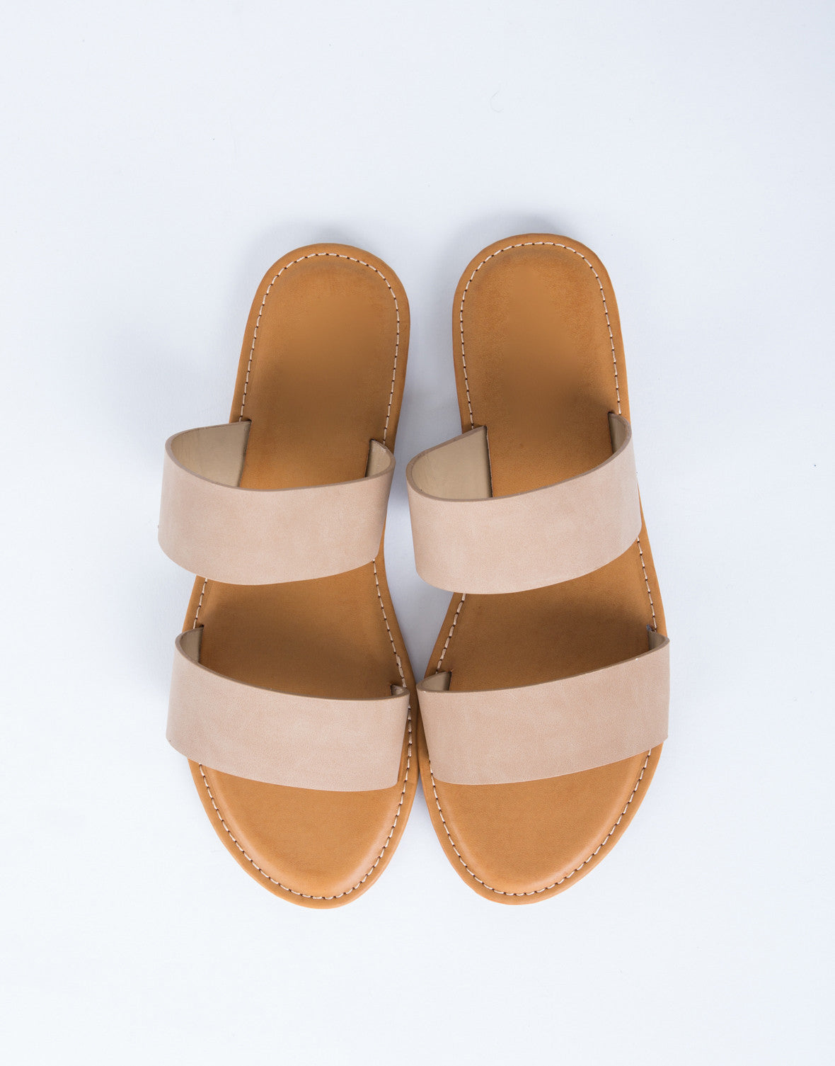 Double Banded Sandals
