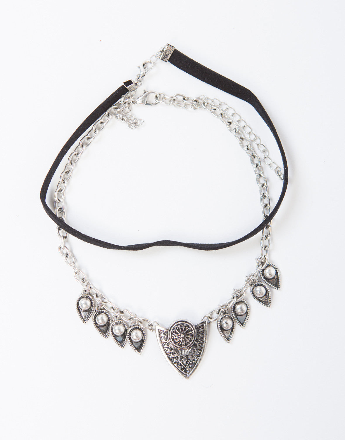 Double Boho Antique Choker Set - 2020AVE