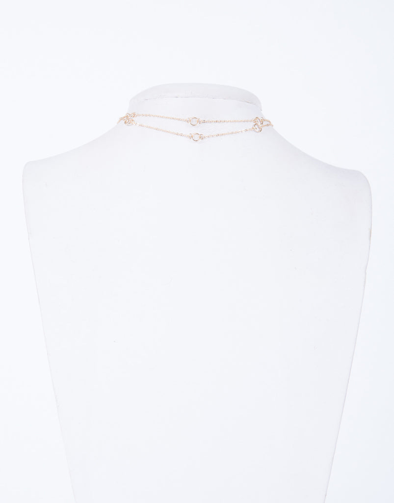 Double Chained Choker
