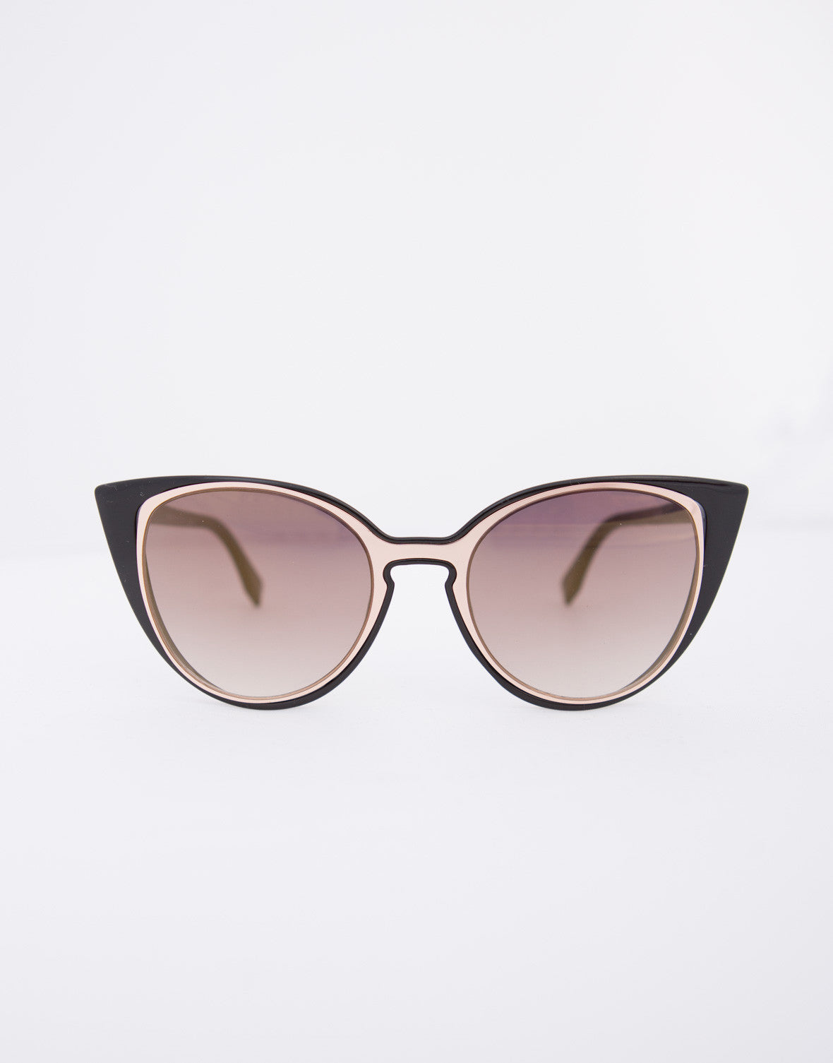 Double Frame Cat Eye Sunglasses - Mirrored Cat Eye Sunnies – 2020AVE