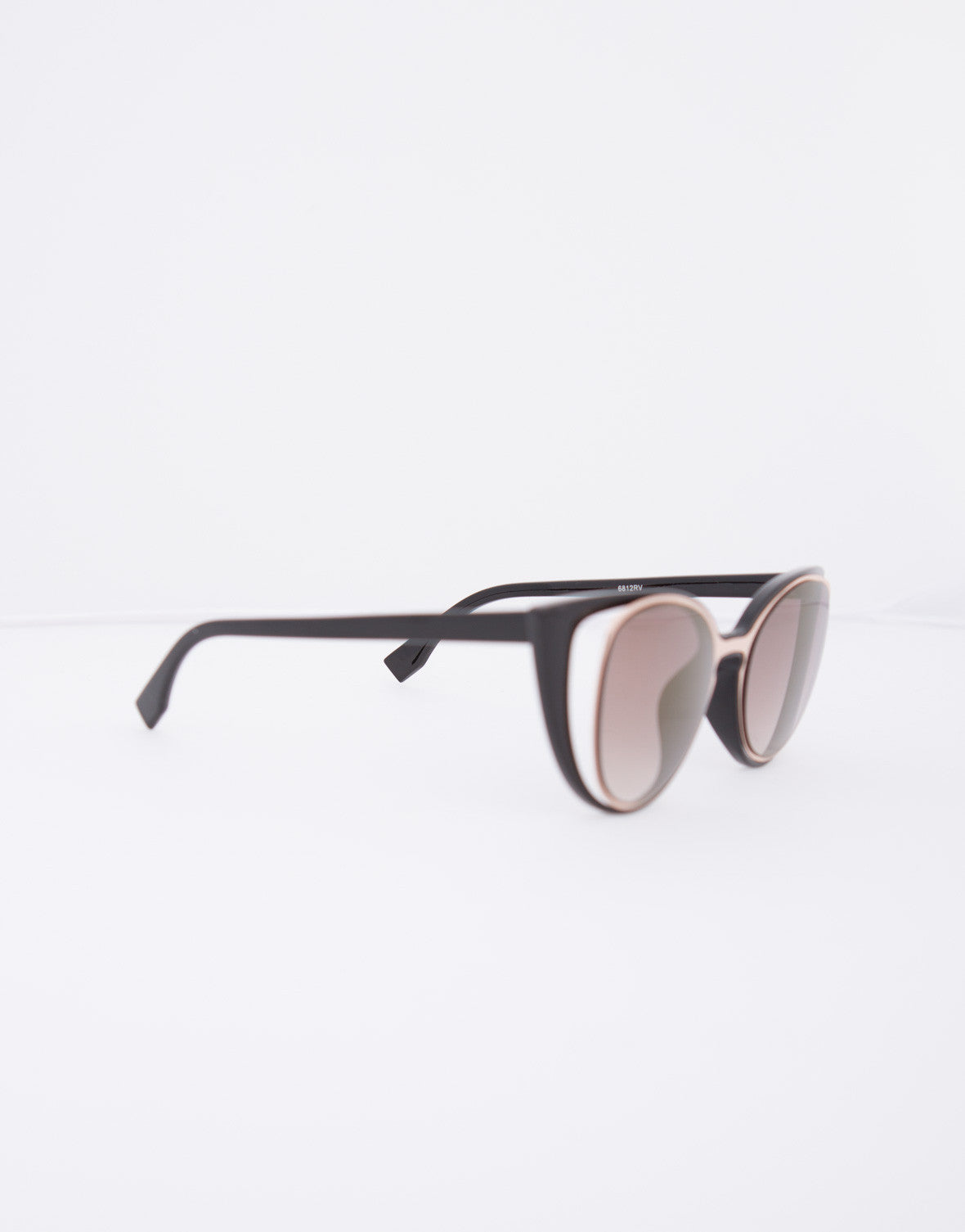 Double Frame Cat Eye Sunglasses