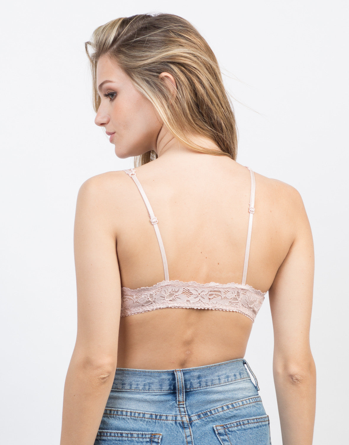 Double Strap Lacey Bralette