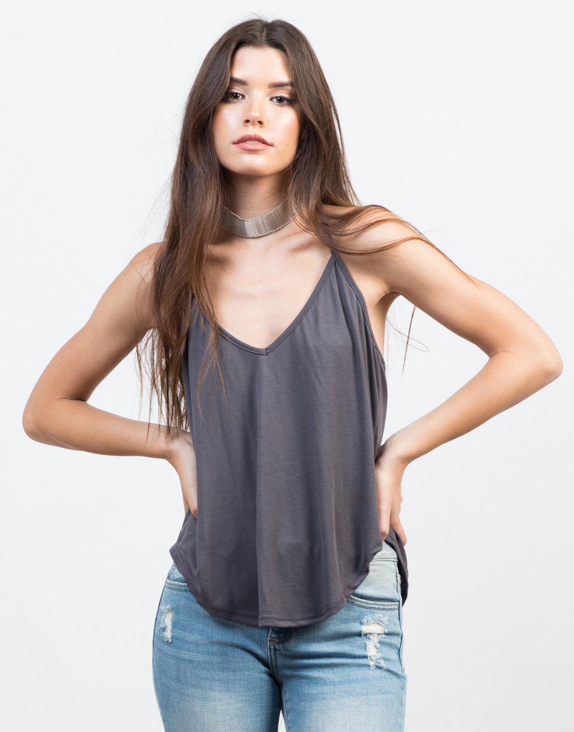 Double Strapped Tank - 2020AVE