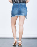 Double Tied Denim Skirt - 2020AVE